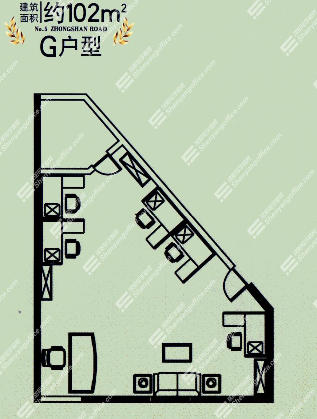 华夏大厦户型图